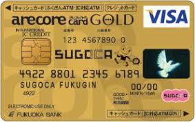 福岡銀行アレコレSUGOCA GOLD