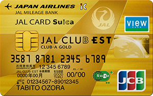 jalカードCULB-EST-CULB-A-ゴールド