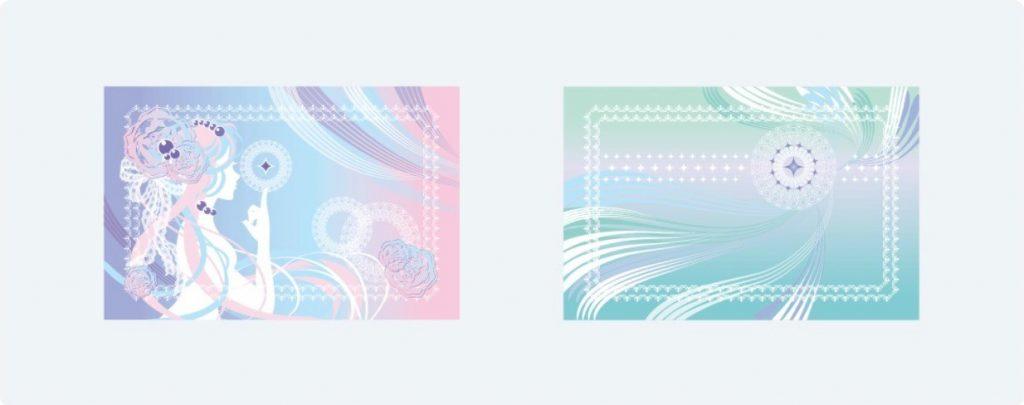 アイフル「スラリ」のカードデザイン
